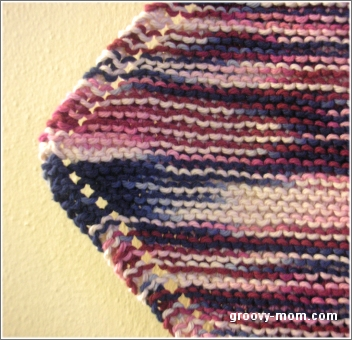 Groovy Mom Crafty - Free Knitting Patterns - Idiot's Dishcloth